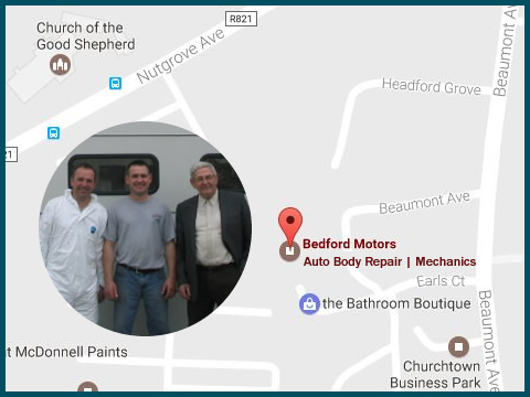 Find Us. Bedfords Auto Body Repairs Mechanics South Dublin